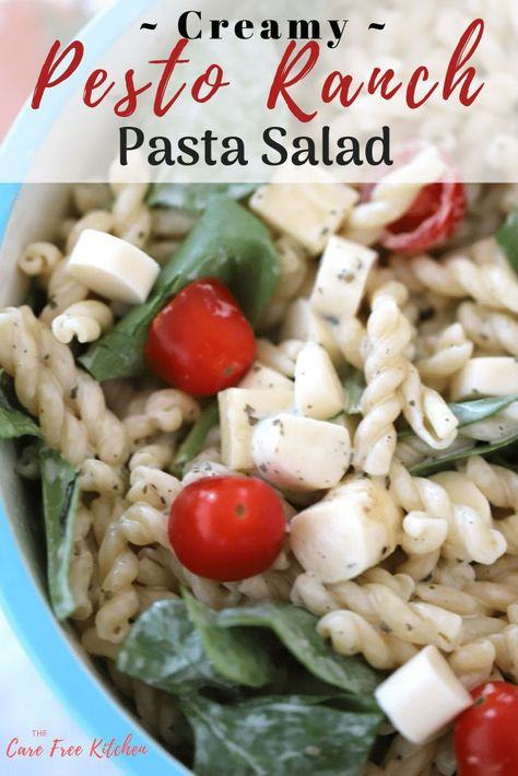 How to Make Pesto Ranch Pasta Salad – 4 Steps