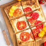 How to Make Tomato Ricotta Tart