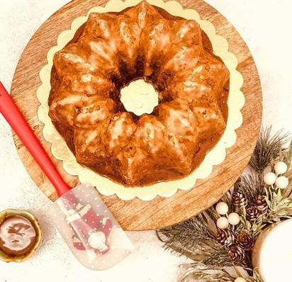 how to make Eggless Gingerbread Cake
