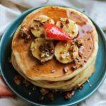 Banana Greek Yogurt Pancakes