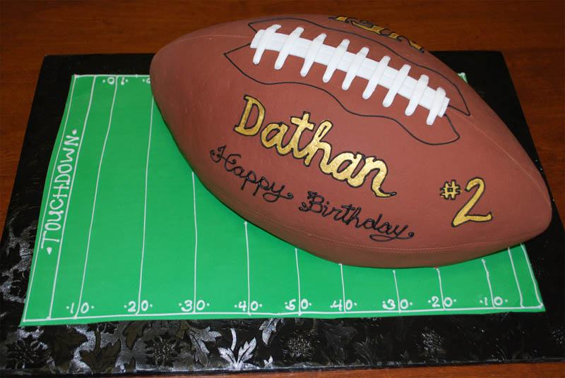 Football-Shaped-Cake
