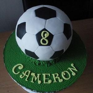 How to Make a Football Shaped Cake – 7 Steps