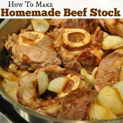 How to Make Homemade Rich Beef Stock