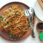 How to Cook Chinese Noodles or Regular Pasta with Soy Sauce