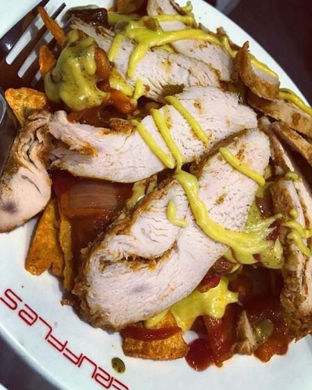 Mexican Chicken Nachos recipe