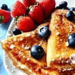 How to Make Blueberry Crepes