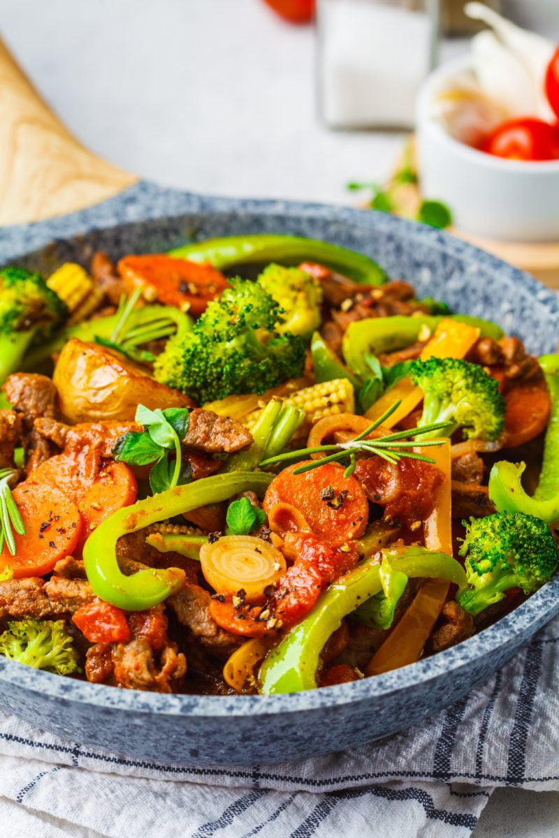Make Gluten Free Stir Fried Beef and Broccoli