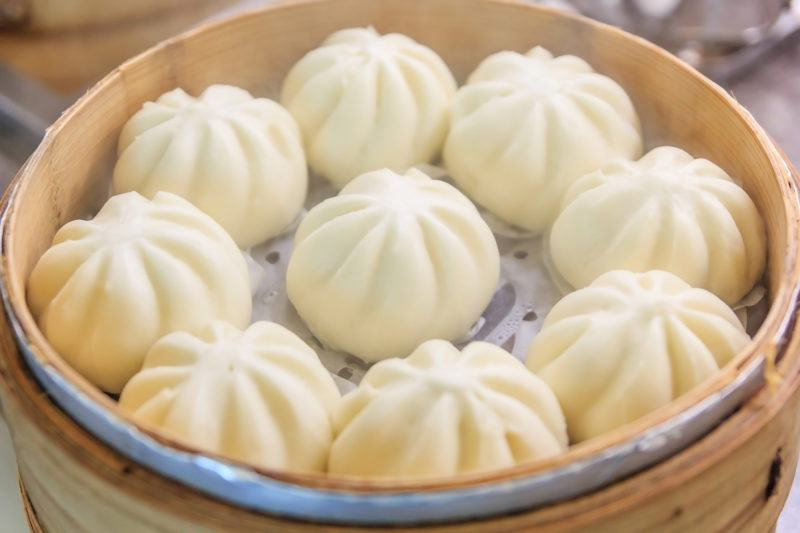 Chinese Steamed Buns simple method