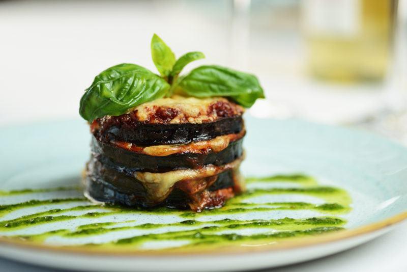 How to Make Pan-Cooked Eggplant Parmesan Stacks