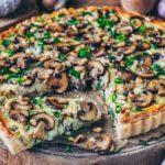 How to Make Polenta Crust Creamed Spinach Tart