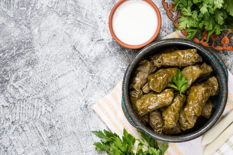 How to cook Greek Dolmades dishes