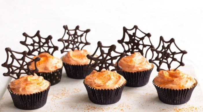 Spider Web Cupcake Topping recipe