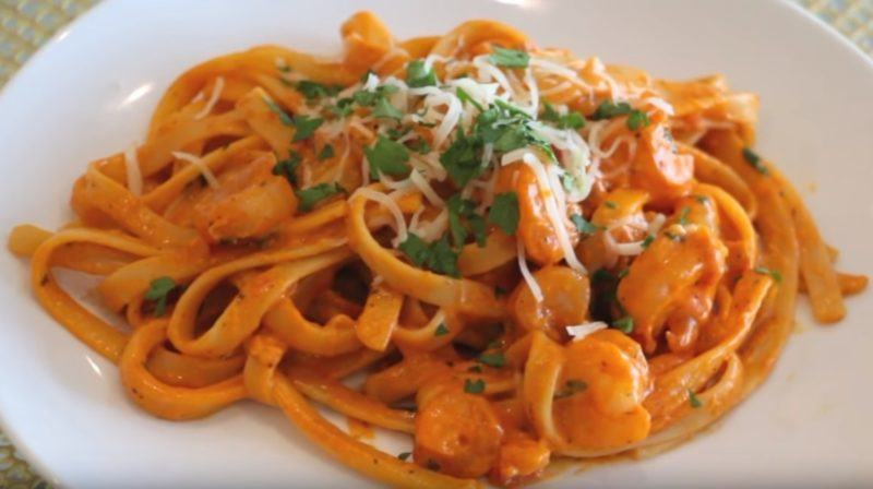 How to Make Tomato cream Sauce Pasta