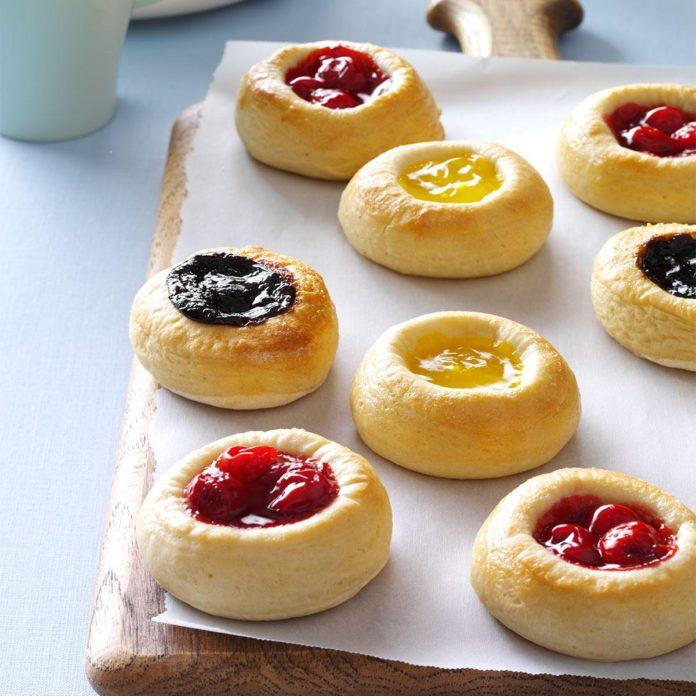 How to Make Kolaches with Strawberry Jam Stuffing