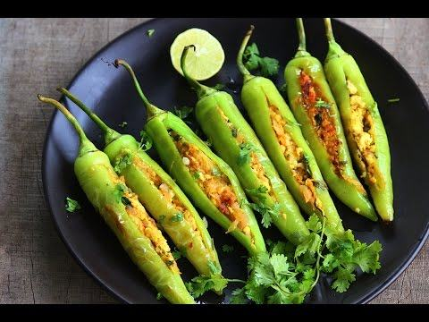 How to Prepare Bharwan Mirchi or Stuffed Peppers Recipe