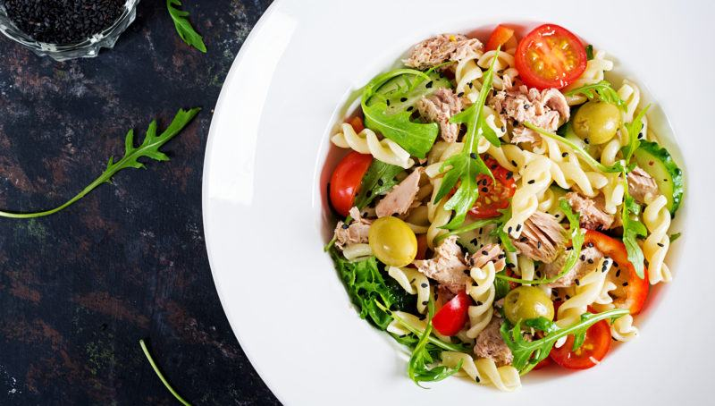 Cook Veggie Pasta Salad