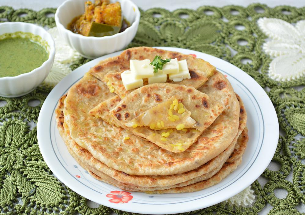 How to Make Pithi Wala Paratha or Pithi Daal Paratha