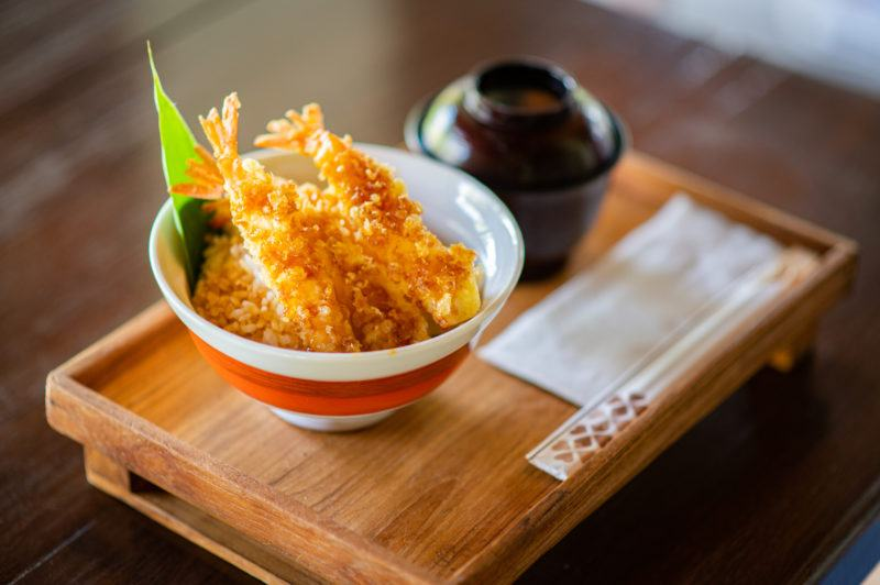 how to cook shrimp tempura rice