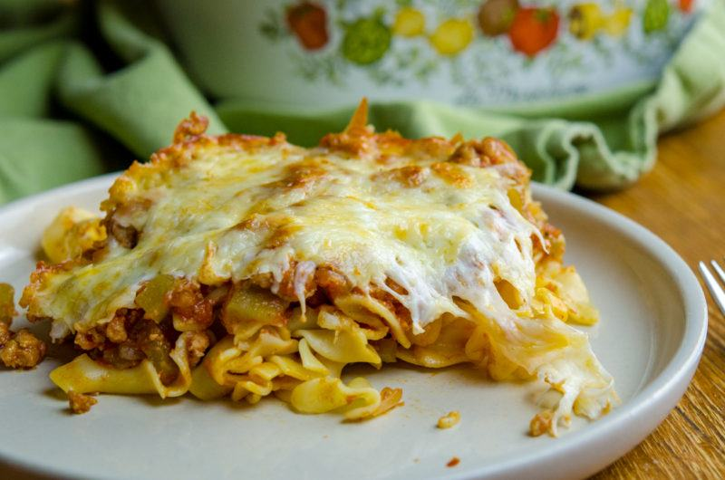 How to Make Italian Noodle Casserole -10 easy Steps