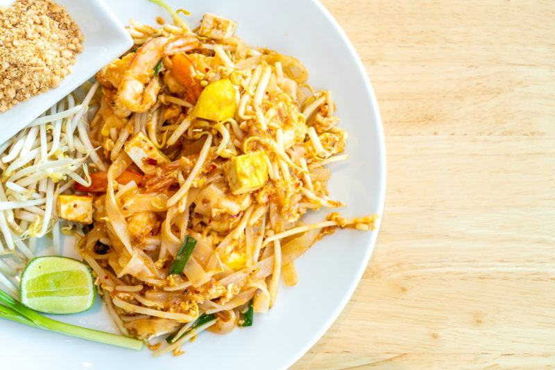 Pad thai - Thai fried rice noodle