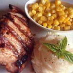 Apple stuffed pork simple method