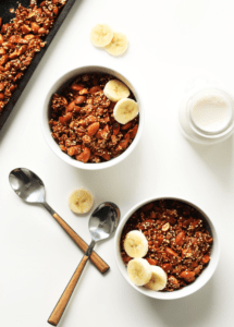 Almond Honey Quinoa Granola