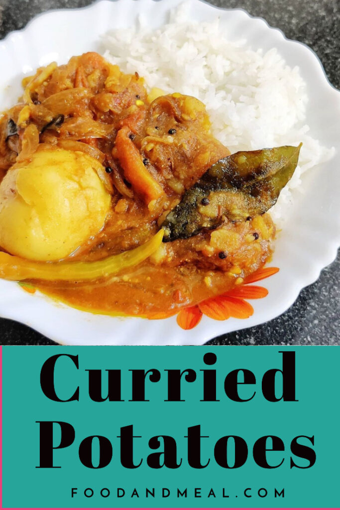 Curried Potatoes easy Recipe