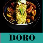 Ethiopia Doro Wat (Chicken Stew) Easy Recipe