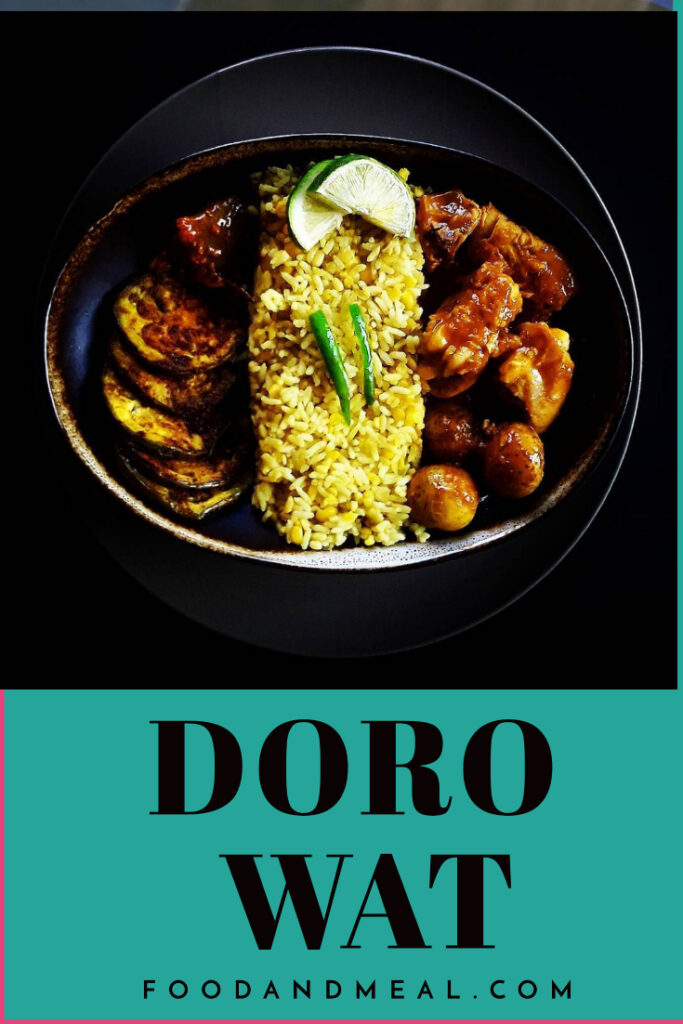 Ethiopia Doro Wat (Chicken Stew) Easy Recipe