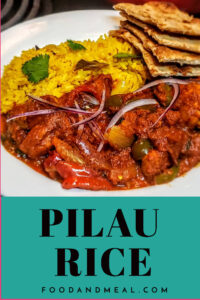 Pilau Rice easy recipe