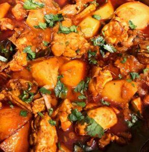 South African Durban Chicken Curry