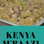 Kenya M'Baazi recipe